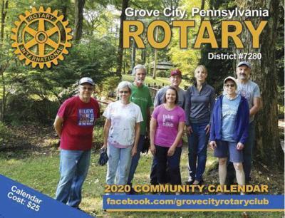 Rotary has a real winner with calendar fundraiser