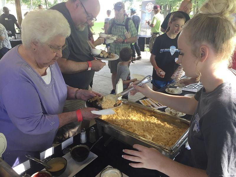 Foodie fundraiser vendors