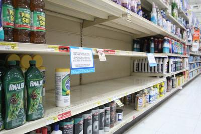 Virus fear sends products flying off shelves