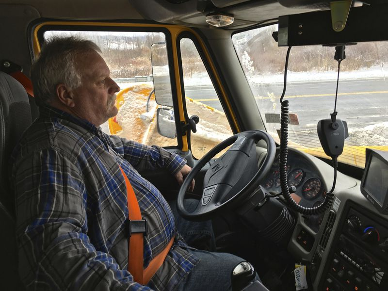 He gets your drift: Experience, technology help plow driver clear the way