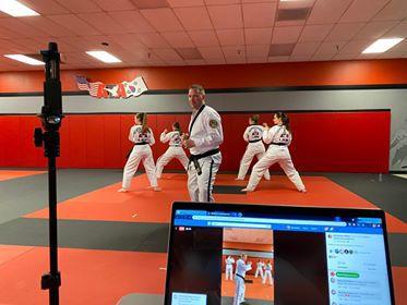Martial arts group