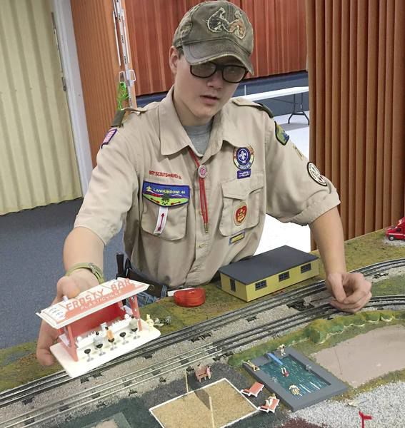 Annual model train display going mobile