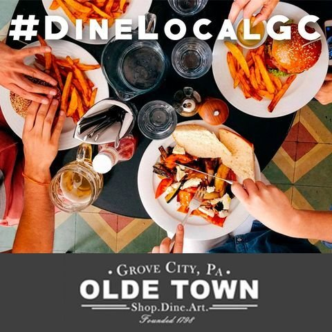 Olde Town hashtag