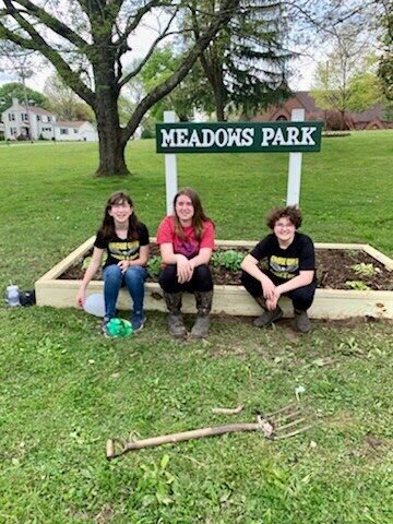 Girl Scouts park sign