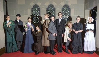 GC Christian Academy presents Sherlock Holmes mystery