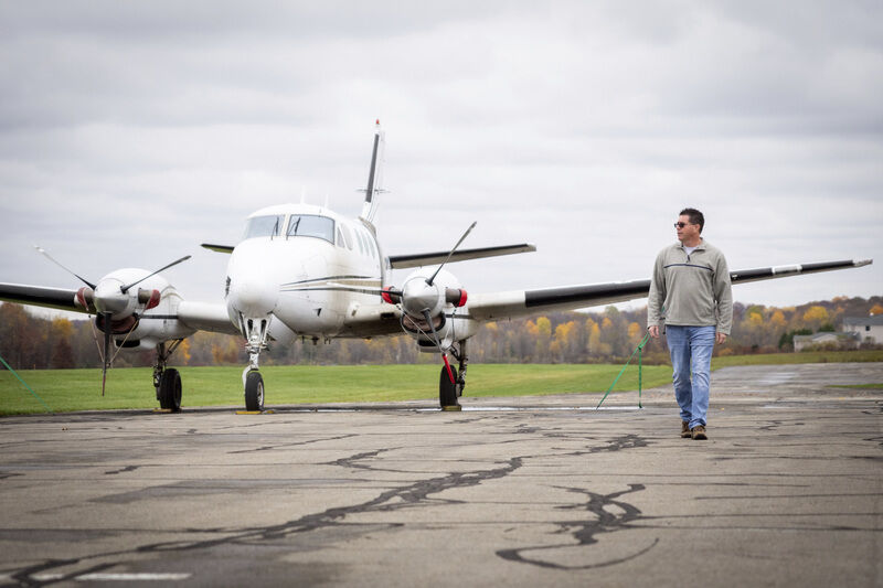 Aviation company is taking off