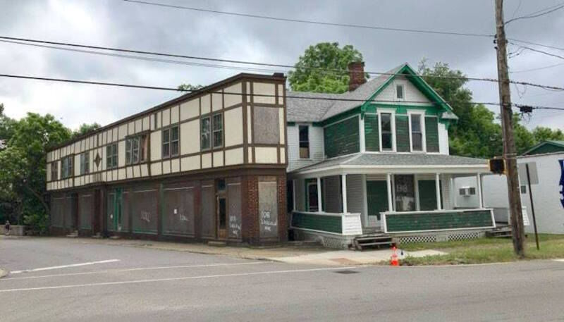 Vacant buildings coming down