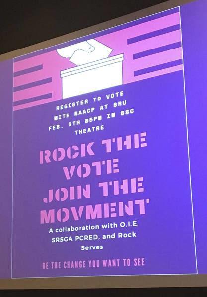 (Slippery) Rock the Vote