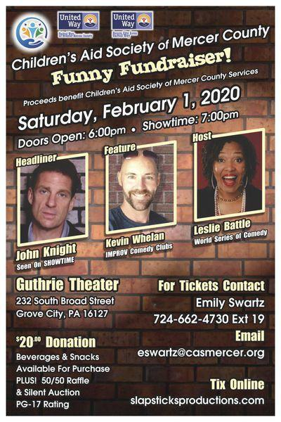Comedy show to aid local families