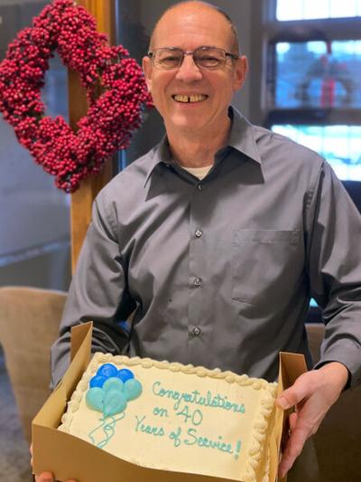 Turner Insurance celebrates Larry Smith's 40 years with firm