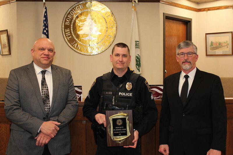 Allias named Grove City 'Officer of the Year' - again