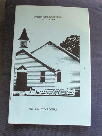 Schoefield church booklet offers interesting facts