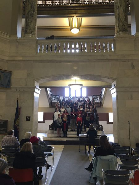 Courthouse is beginning to sound a lot like Christmas