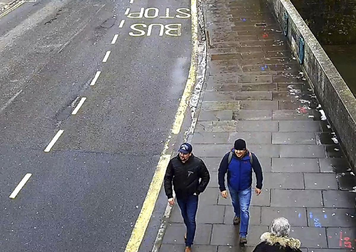 Britain Poisoned Spy