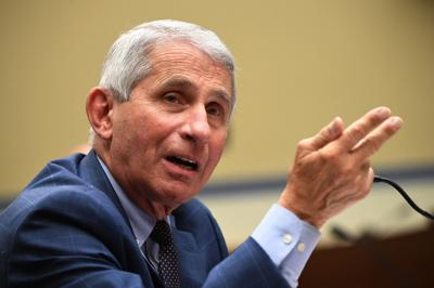 Dr. Anthony Fauci, director of the National Institute for Allergy and Infectious Diseases, testifies before a House Subcommittee on the Coronavirus Crisis hearing on a national plan to contain the COVID-19 pandemic, on Capitol Hill in Washington, DC on Friday, July 31, 2020.