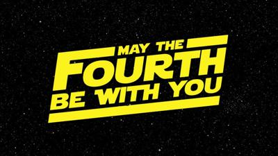 May the 4th be with you on National Star Wars Day
