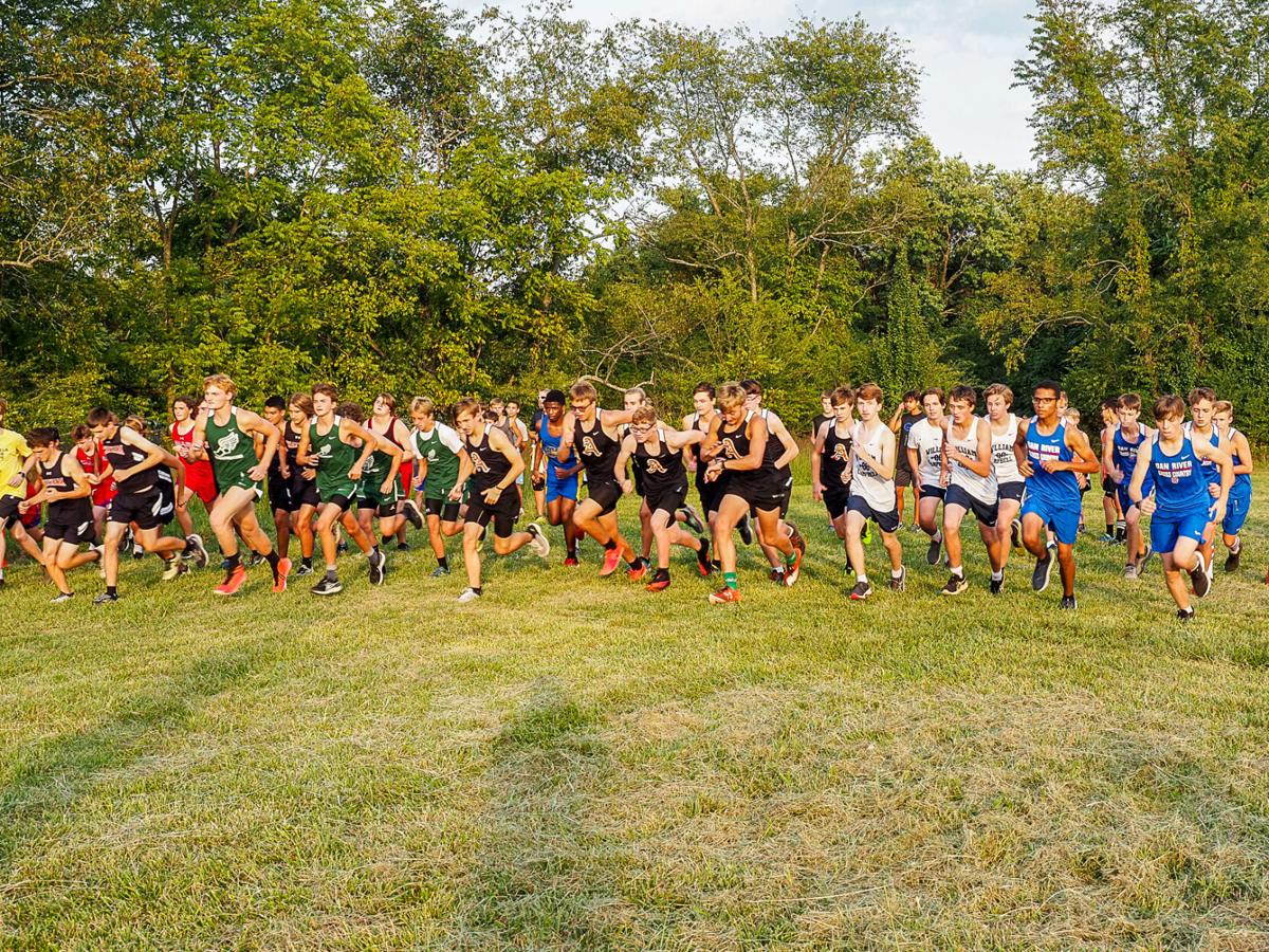 Dogwood District shows out for Altavista cross country meet