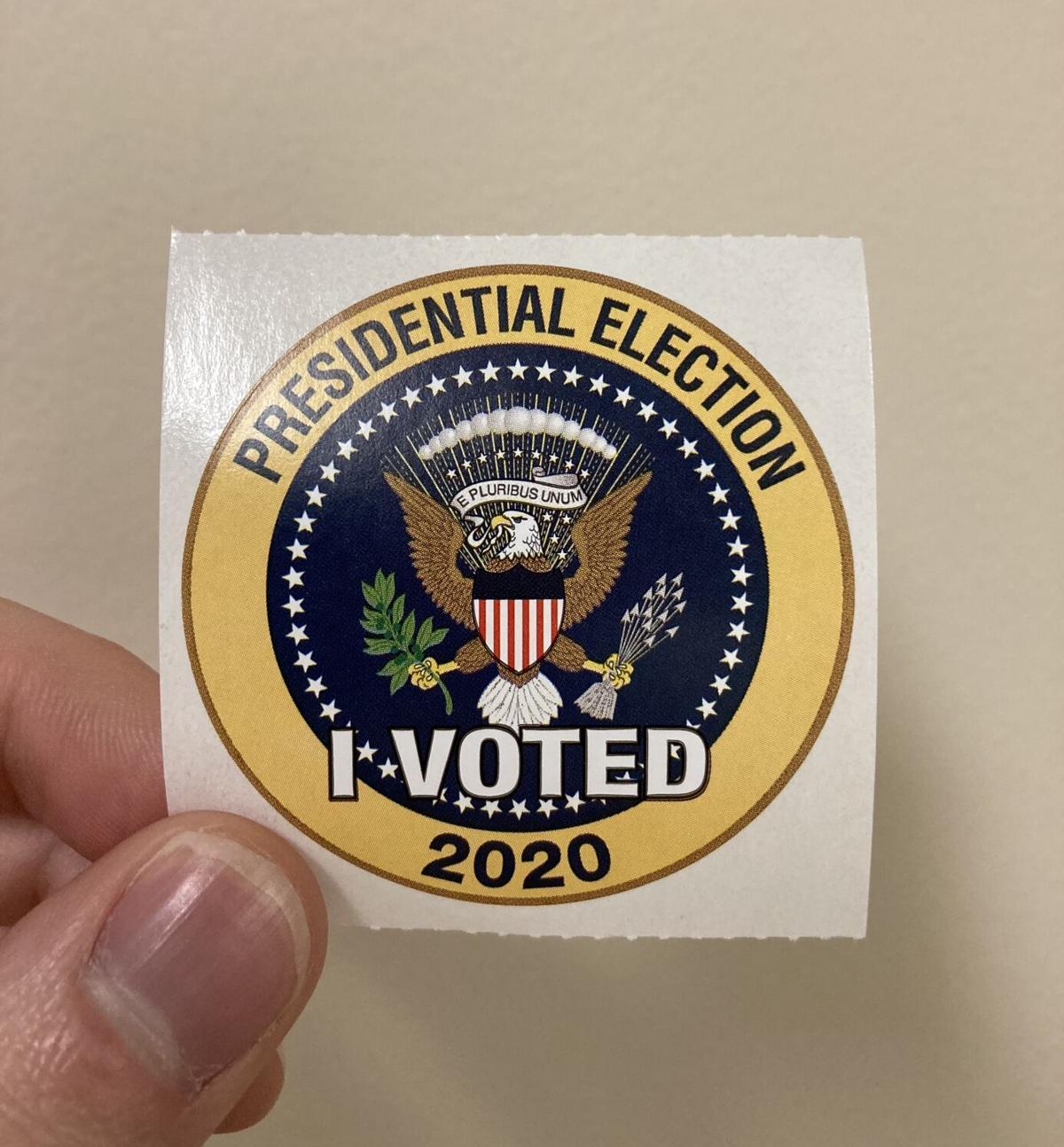 Voter registration photo illustration