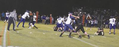 Hawks roll over Colonels in Friday game, 62-12