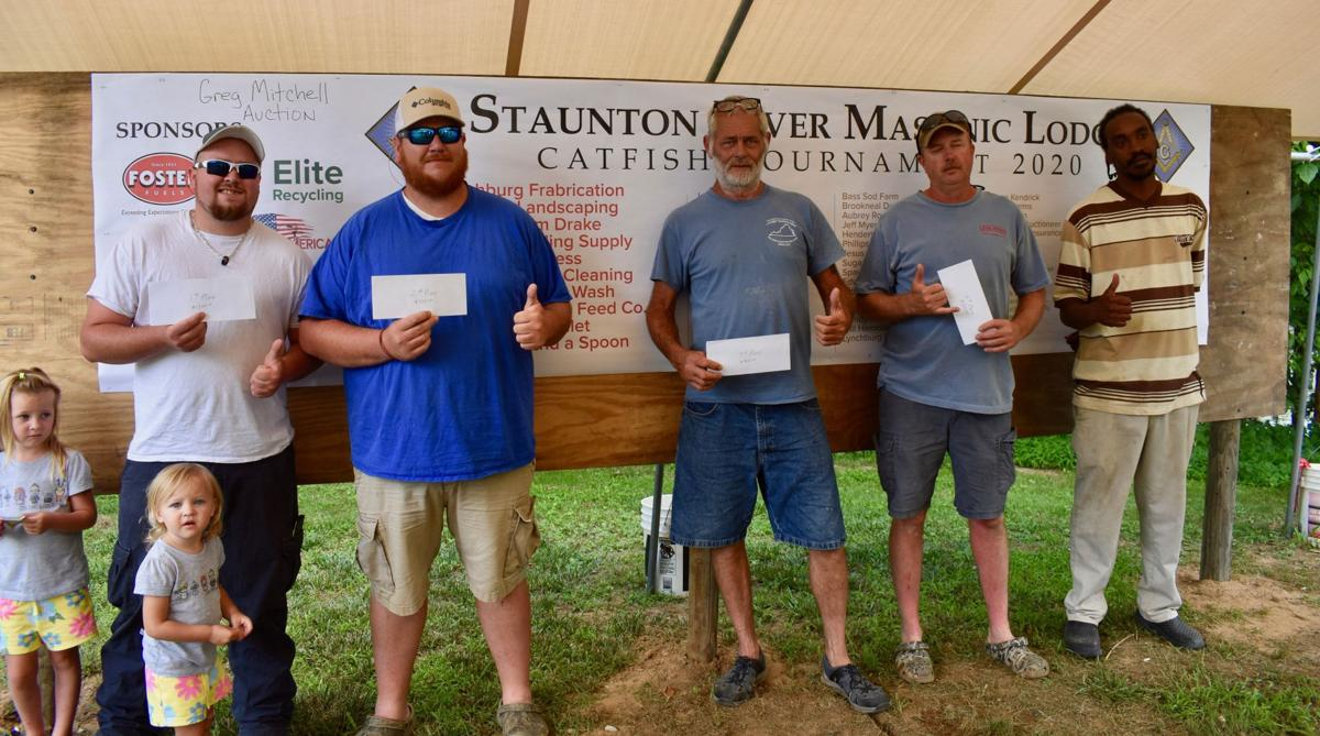 Fishing tournament draws large number of participants