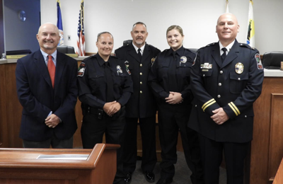 Two new officers sworn into Altavista Police Department