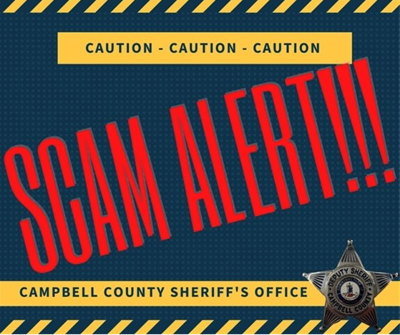 CCSO phone scams warning