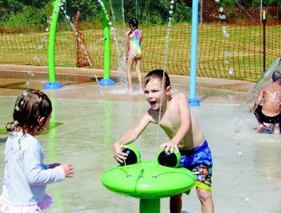 Splash Pad open for limited time in Altavista