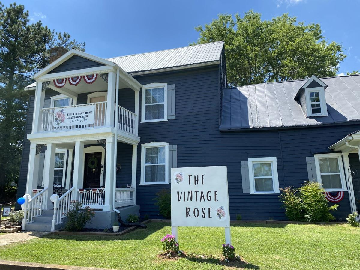 The Vintage Rose opens in historic home on Route 29