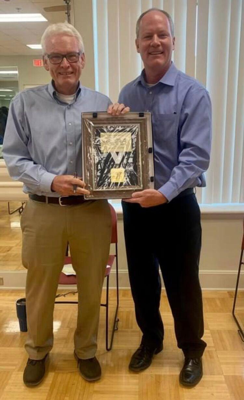 YMCA board celebrates executive director's 50th year at Y