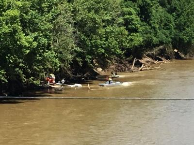 Emergency services respond to boating incident on river