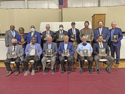 Pittsylvania County Sports Hall of Fame ceremony