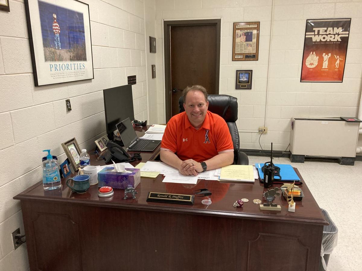 Principal Ron Proffitt