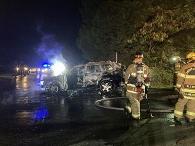 Leesville Road wreck