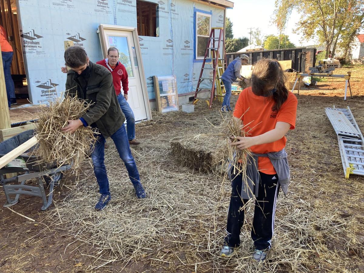 Habitat for Humanity blitz build