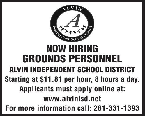 NOW HIRING GROUNDS PERSONNEL
