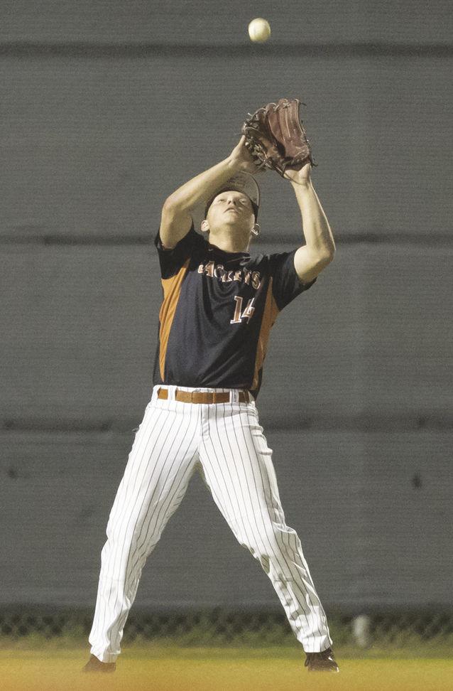 Schiller catches fly ball.jpg