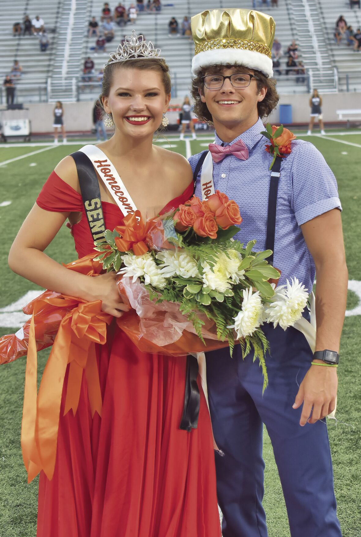 Alvin homecoming queen and king