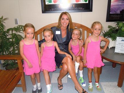 First Quadruplets Start School In Alvin News Alvinsunnet