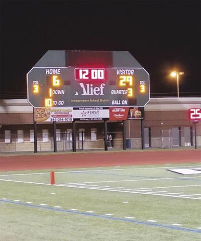 Scoreboard tells story