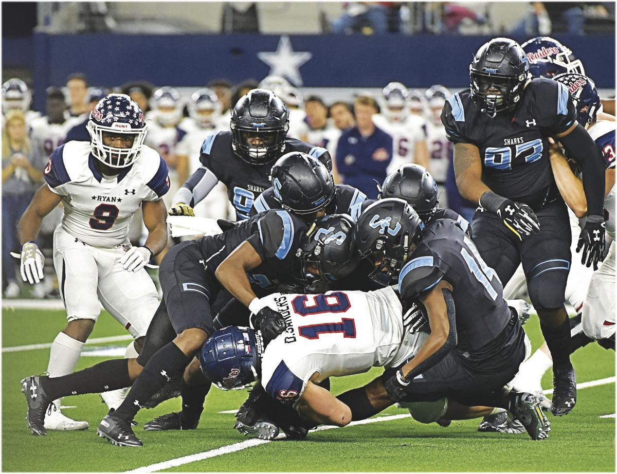 Sharks defense at state