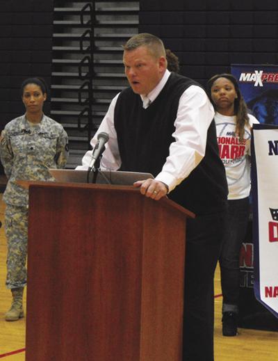 Bryan Harris speaking in 2014