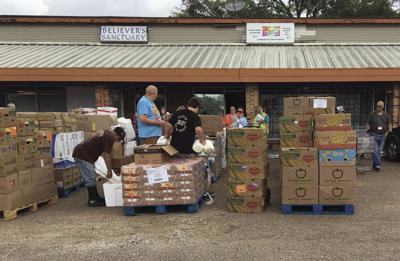 Food pantry delivery