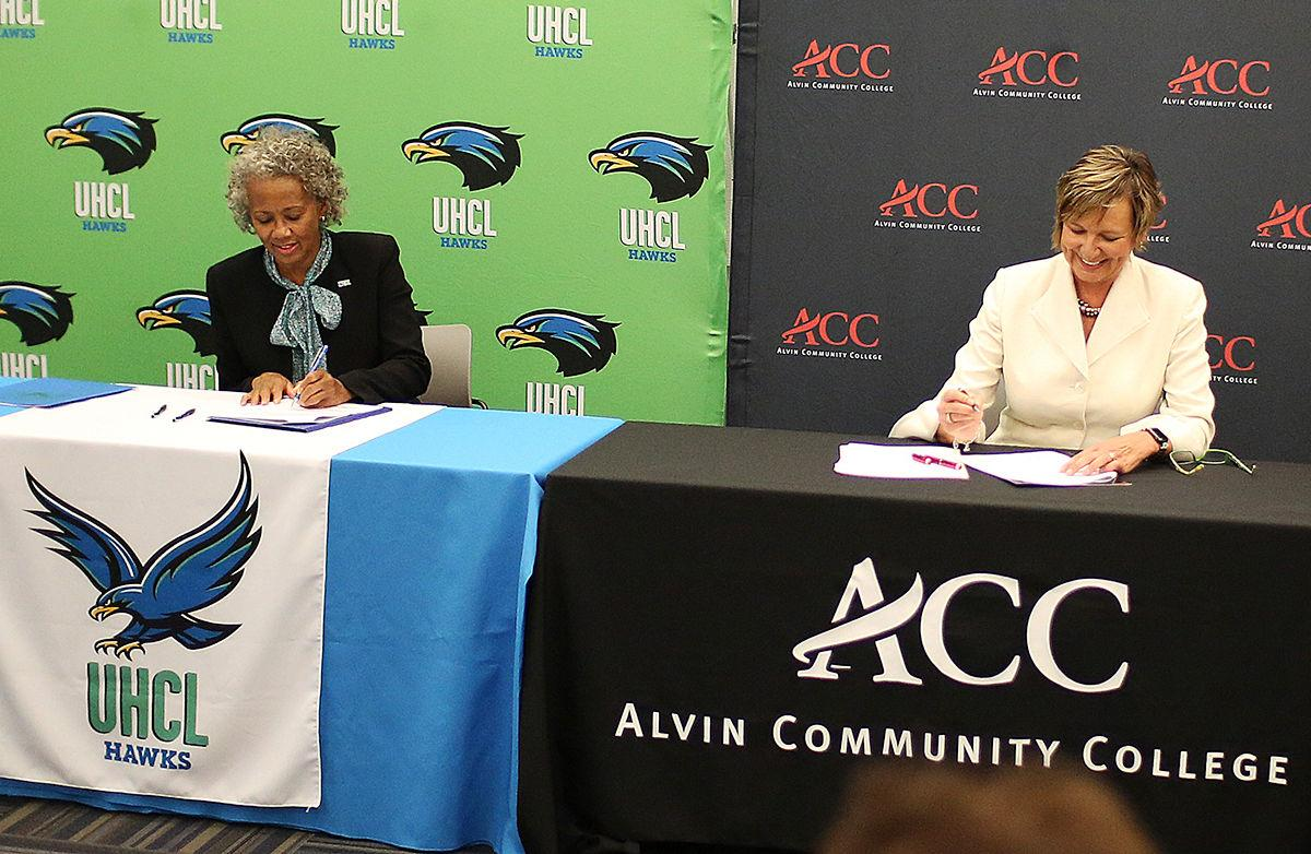 Acc And Uhcl Sign Agreement To Help Students Transfer News