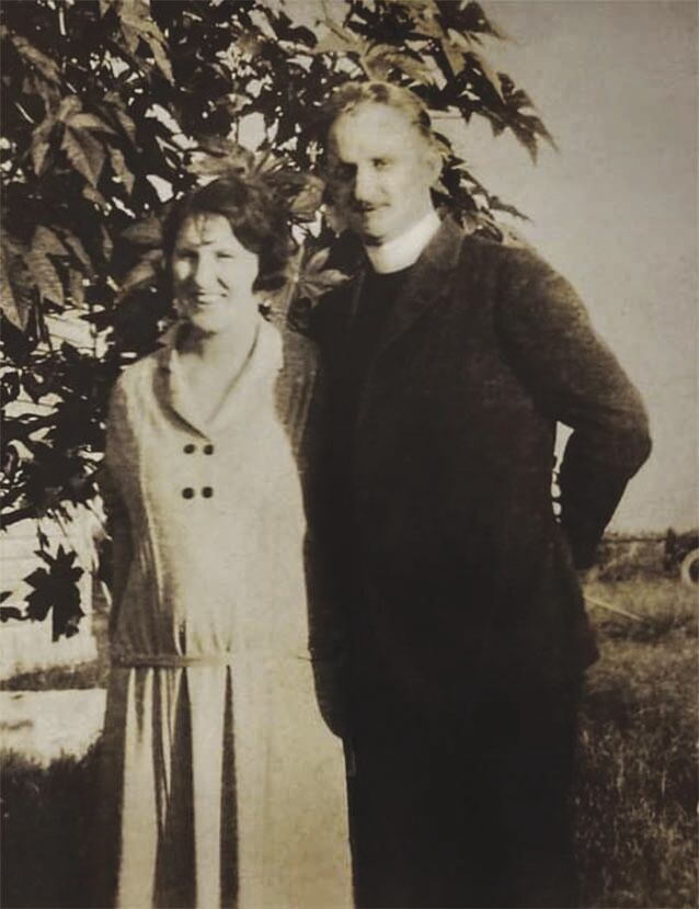 Quinn with wife Dot