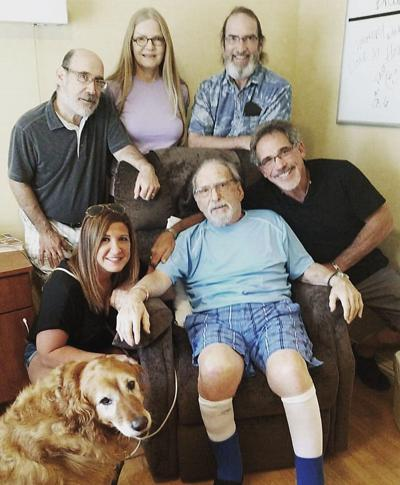 Darrell Radin called AgeWell Cincinnati after his father was injured in a fall and experienced difficulty navigating the stairs in his apartment.