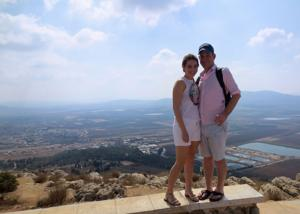 A young couple poses in Jerusalem during a Honeymoon Israel trip. In 2018, Honeymoon Israel is coming to Cincinnati. Applications open March 5.
