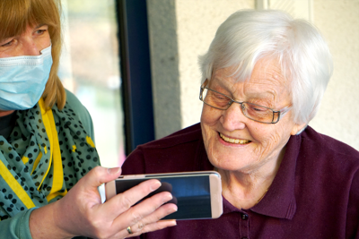 Older adults may not be aware of added Covid-19-related services being offered through various support agencies, but finding this help is often as easy as making a phone call