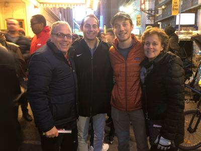 Robert and Marcy Klein (pictured with sons Jay and Jonathan) believe that giving to the Jewish community is less about resources and more about priorities