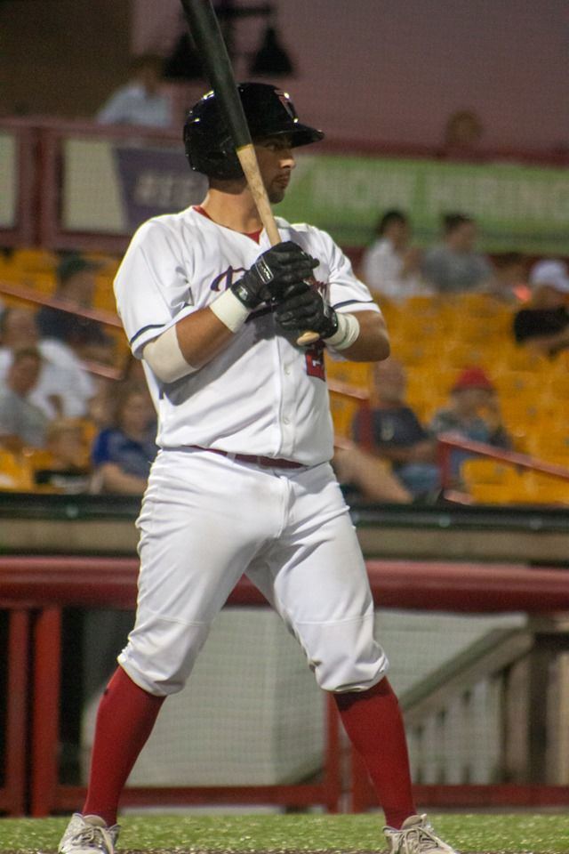 Florence Freedom's catcher Ryan Rinsky, in his third year with the club, is playing in the Frontier League playoffs.