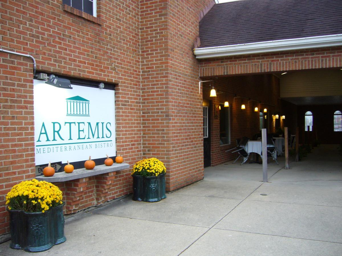 Artemis Mediterranean Bistro is on Cooper Road in Montgomery, but sits behind other businesses.